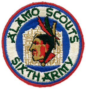 Created as a result of a contest at one of the ASTCs. Only 440 patches were manufactured by N.S. Meyer Company in late 1944.